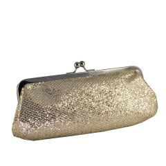 Farah Champagne Glitter Womens  Handbag from Touch Ups by Benjamin Walk